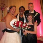 Debra + Randy with daughter Alyssa La Fontaine Bleue, Glen Burnie