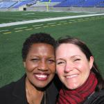 Amy Skinner Catering Sales Manager with Aramark at M & T Bank Stadium