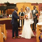 Wale + Kemi's Nigerian wedding, St. John Baptist Church, Columbia