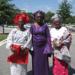 Kemi + Wale's Nigerian wedding guests, St. John Baptist Church, Columbia